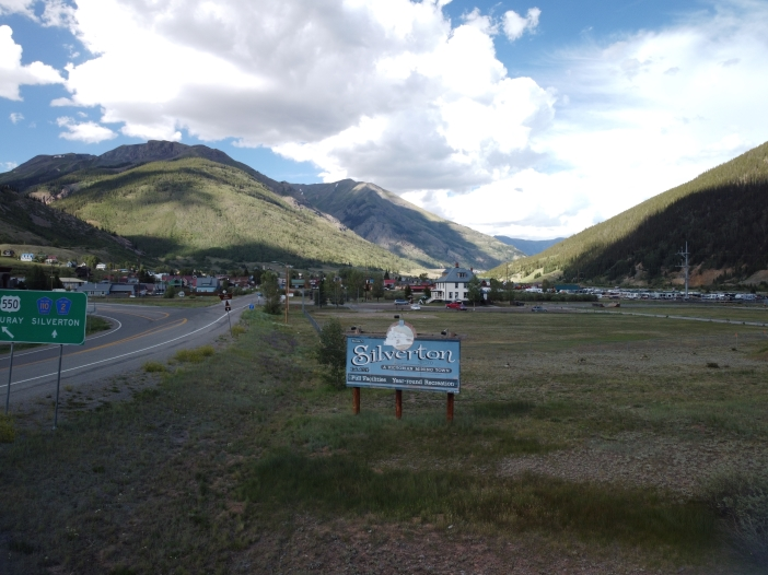 Unedited JPEG image straight from the DJI Mavic Mini camera. Silverton Colorado