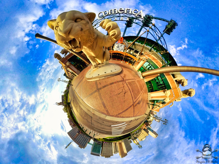 Insta360 One R Tiny Planet Detroit Tigers