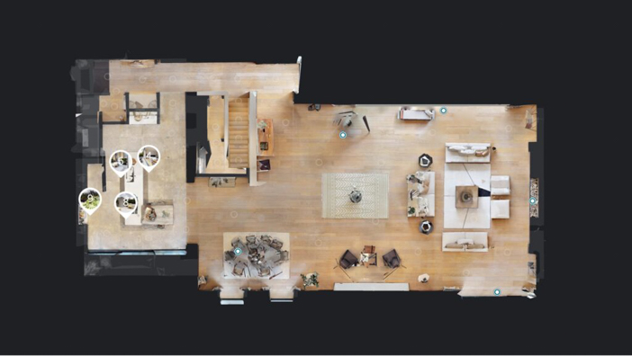 Matterport floor plan generated for your 3D Virtual Tour