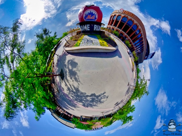 Ricoh Theta Z1 Tiny Planet New York Mets Citi Field